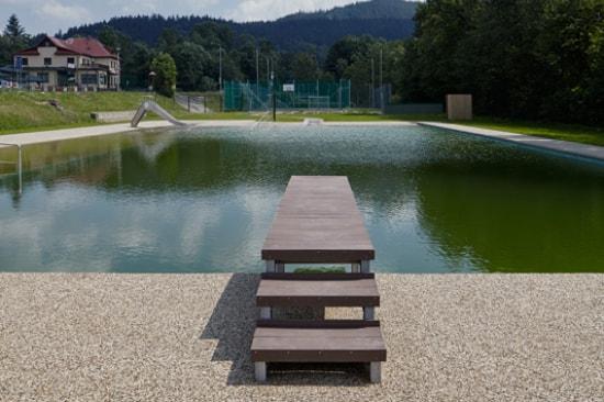 Přírodní koupaliště Biotop Prostřední Bečva